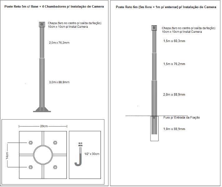 Fabricante de postes de iluminação