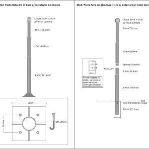 Fabricante de poste de iluminação publica